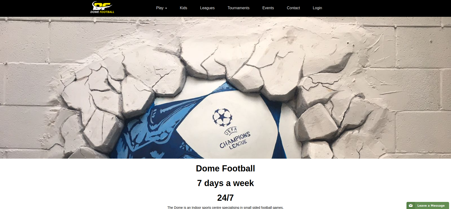 Dome Football Oldham